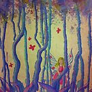 Welcome to the enchanted woods by Dianne  Ilka