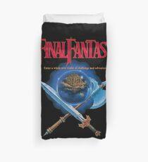 Final Fantasy 1 NES Classic Art Duvet Cover