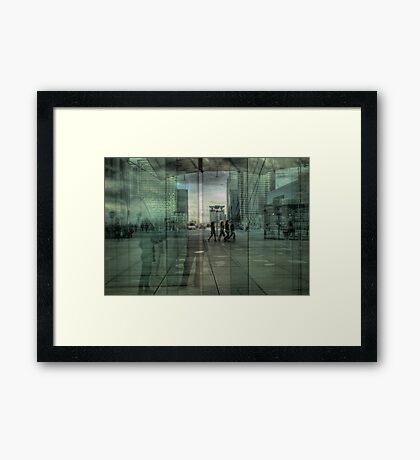 La Défense Framed Print