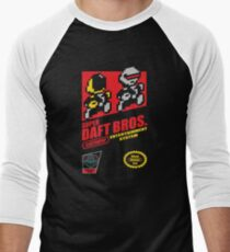 Super Daft Bros. Men's Baseball ¾ T-Shirt
