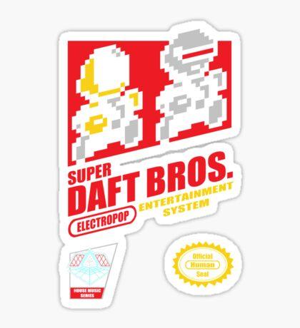 Super Daft Bros. Sticker