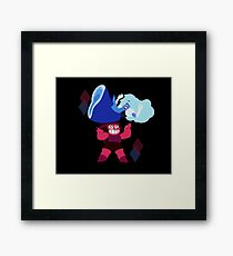 Ruby and Sapphire Framed Print