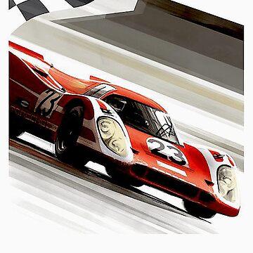 LE MANS: Oldtimer-Grand-Prix-Rennsport-Druck von posterbobs