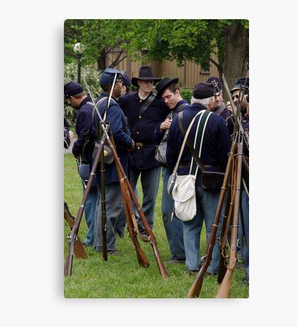 Union Infantry Canvas Print