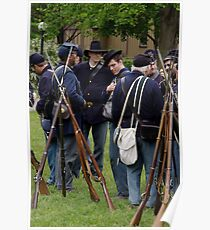 Union Infantry Poster
