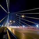 Rama VIII Bridge, Bangkok by laurentlesax