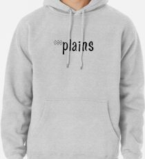 The Plains Hotel Logo (Black) Pullover Hoodie