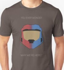 Red vs Blue Poster T-Shirt