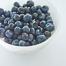 Blue- berries by Jaime de la Cruz