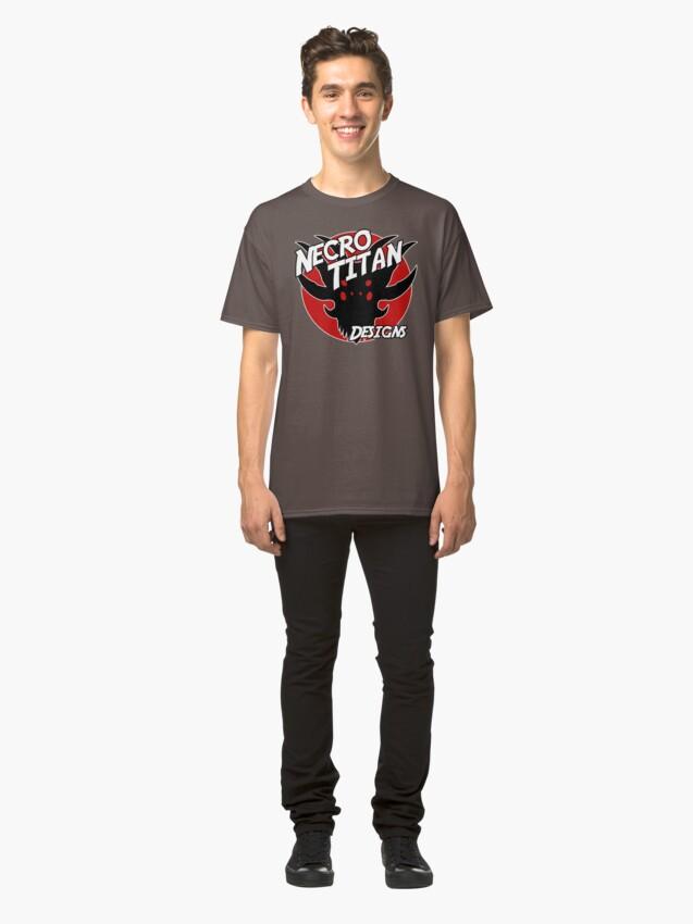 Alternate view of Necro Titan Designs Classic T-Shirt