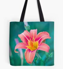 Flower at the end of the driveway Tote Bag