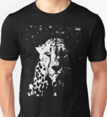 Camiseta ajustada Leopardo de la noche
