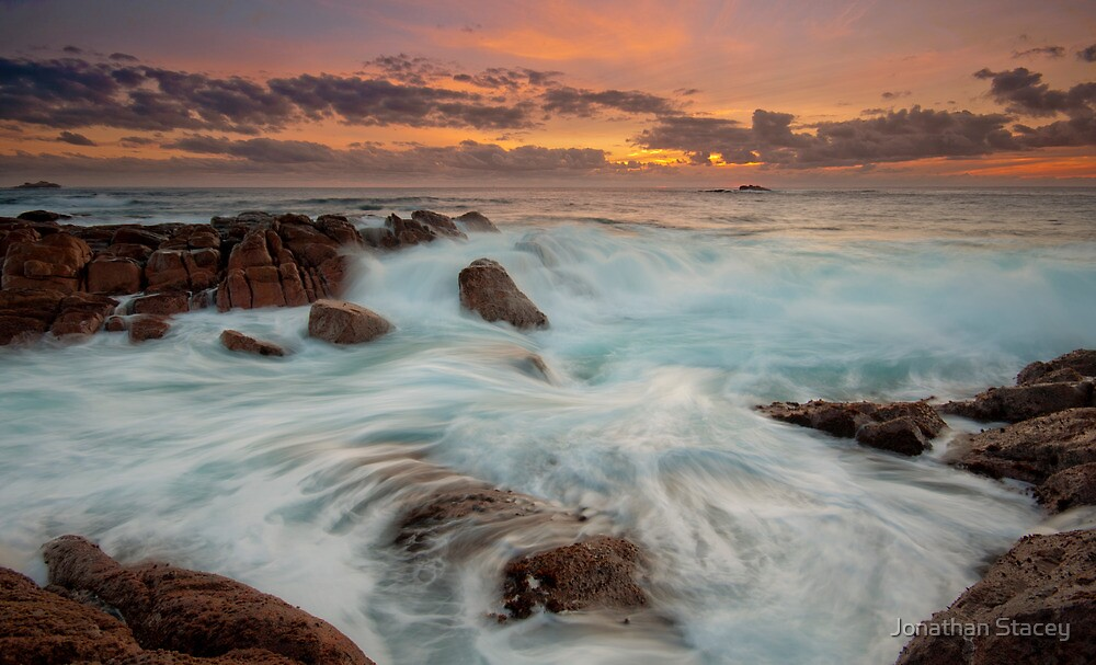 Smiths Beach Last Light II by Jonathan Stacey