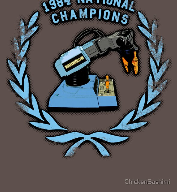 1984 Armatron Championships. by ChickenSashimi