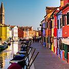 The Venetian neon-colored houses of Burano by BodyIllumin
