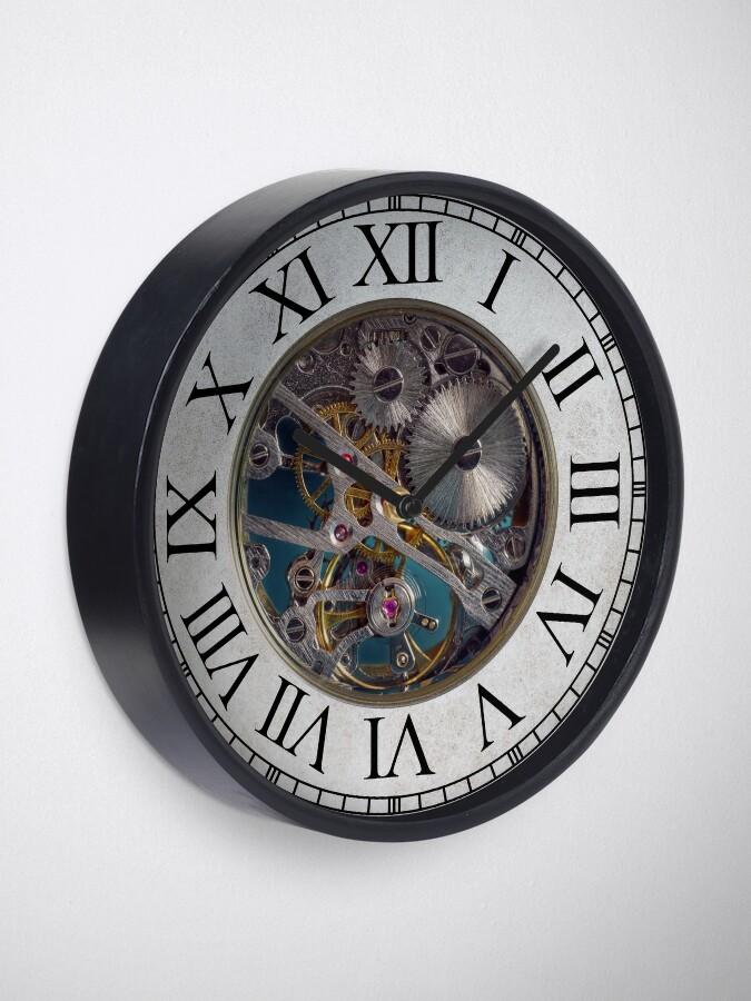 Alternate view of Steampunk Gears Clock Clock
