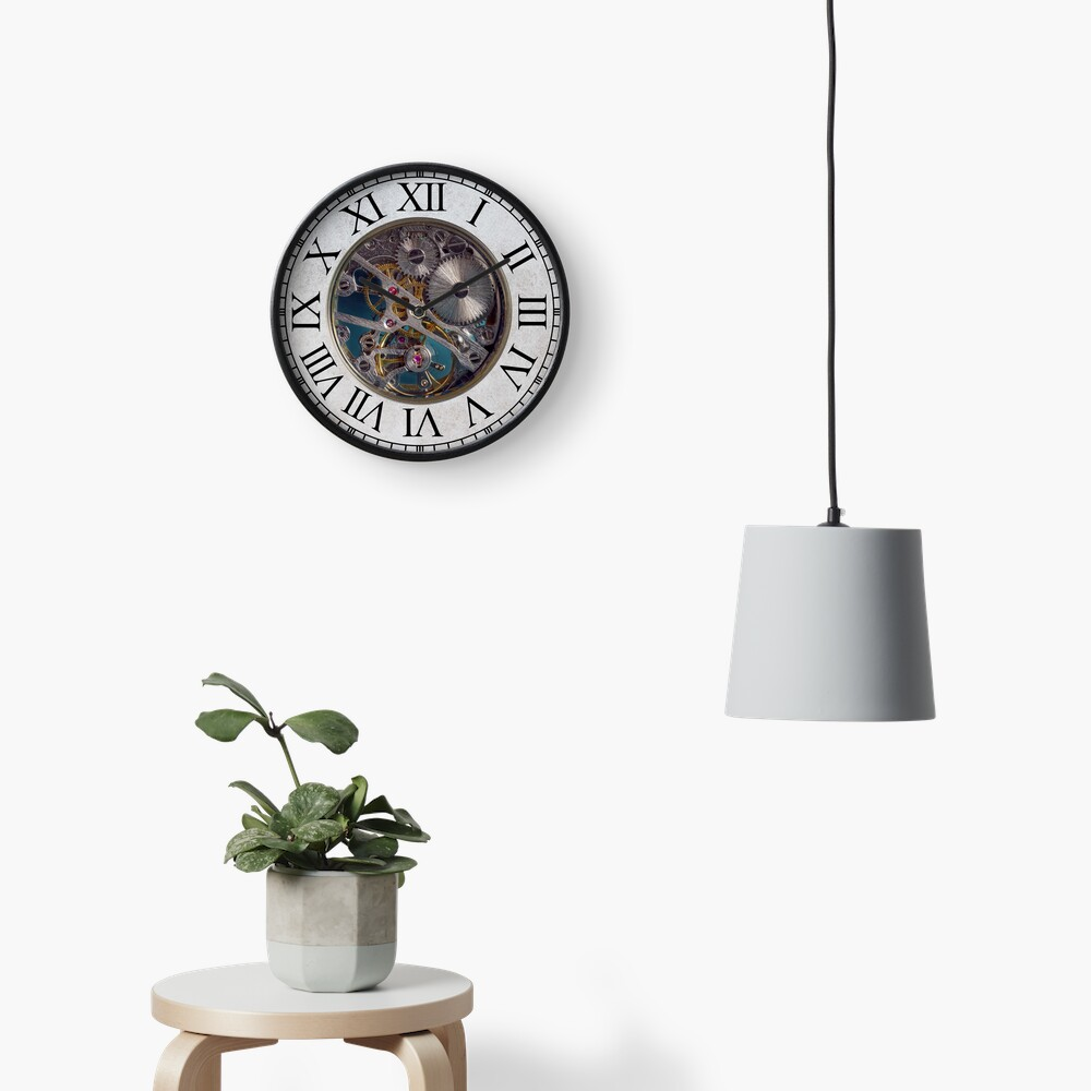 Steampunk Gears Clock Clock