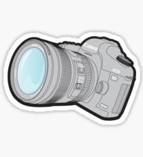 Canon 5DmkII Camera Sticker