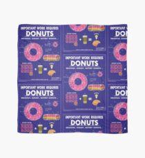 Donut Blueprint Scarf