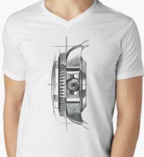 ROLEX WATCH V-Neck T-Shirt