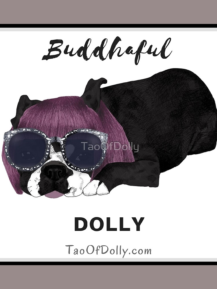 Buddhaful Dolly - Black Border by TaoOfDolly