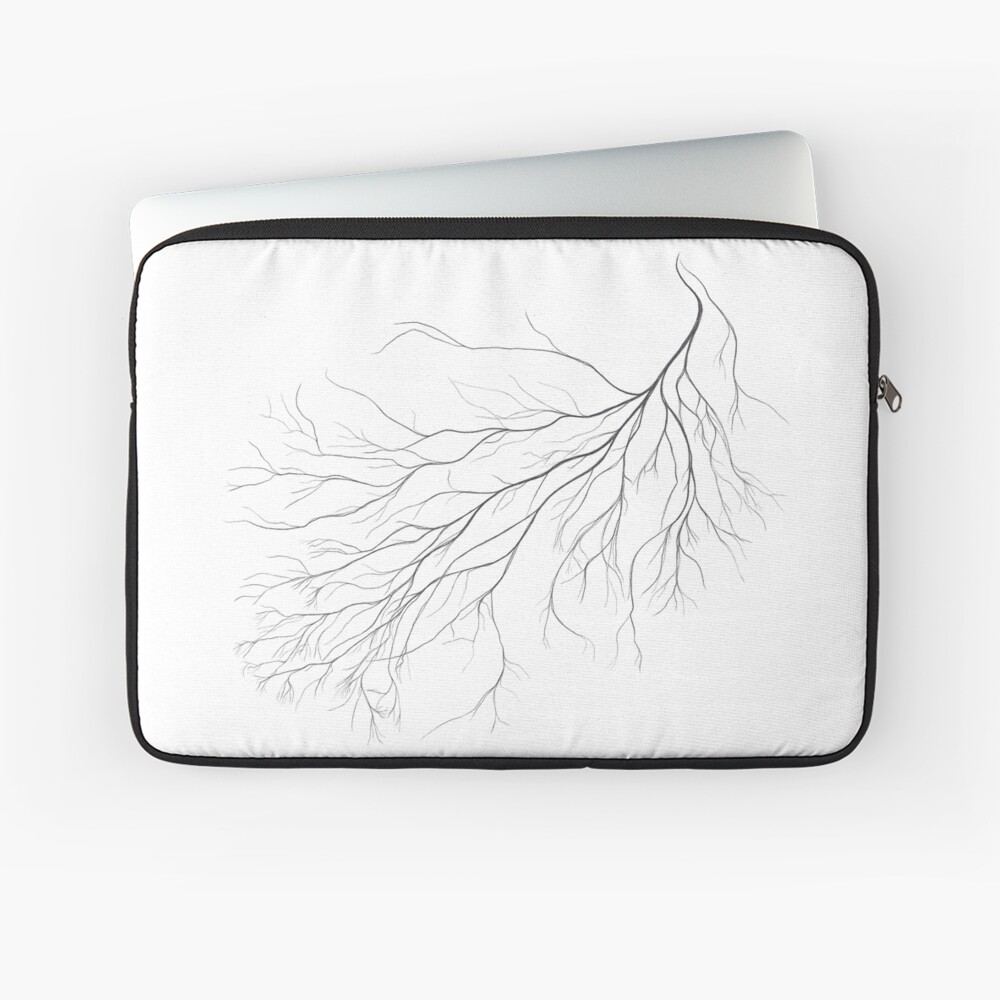 Mycelium (pencil drawing) Laptop Sleeve