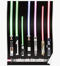 Star Wars Lightsaber Poster