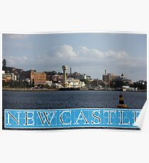 Newcastle Harbour - Australia Poster