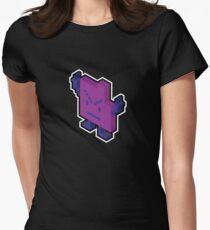 Err The Mooninite  Women's Fitted T-Shirt