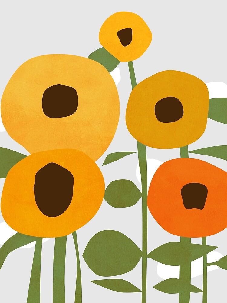 Sunflowers by penwork