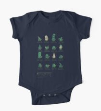 A Study of Turtles One Piece - Short Sleeve