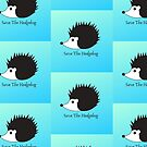 hedgehog lovers, animal lovers funny, cute, hedgehog, English Wildlife in danger of extinction by Angie Stimson