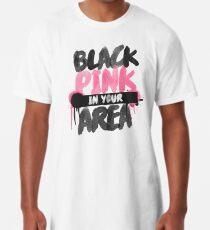 Camiseta larga BLACKPINK en su área