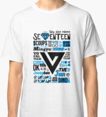 Siebzehn-Collage Classic T-Shirt