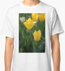 Yellow Crown Tulips Classic T-Shirt