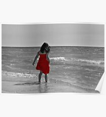The Red Sundress Poster