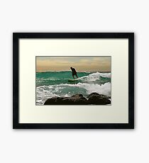 ARMS  WIDE  OPEN Framed Print