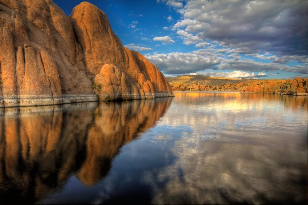Rock vs Cloud by Bob Larson