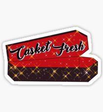 """NCT """"Hoppin out casket fresh"""" Sticker"""