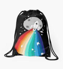 Pride Rocket Drawstring Bag