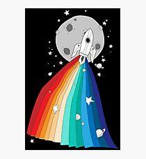 Pride Rocket Photographic Print