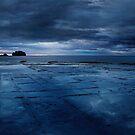 «Salida del sol sobre el pavimento teselado .3» de Alex Preiss