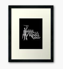 Evil Dead - Hail To The King [Dark] Framed Print