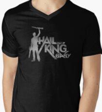 Evil Dead - Hail To The King [Dark] Men's V-Neck T-Shirt