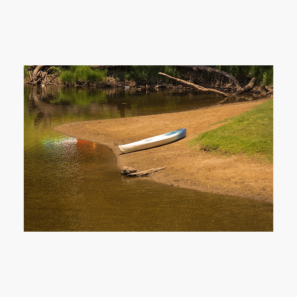 A Lonely Kayak Photographic Print