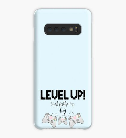 Gaming - Gamer - Fathers Day - LEVEL UP! First Father's Day! Case/Skin for Samsung Galaxy