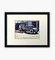 Z's Garage Service & Repair Framed Print