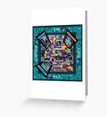 ETHOS - the game - Beach Break Bar indoor Greeting Card