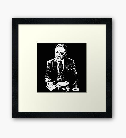 The Man - Lancey Howard Framed Print