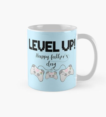 Gaming - Gamer - Fathers Day - LEVEL UP! Happy Father's Day! Mug